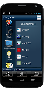 android phone media control
